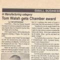 Chamber award