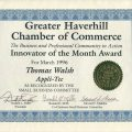 Innovator of the Month Award