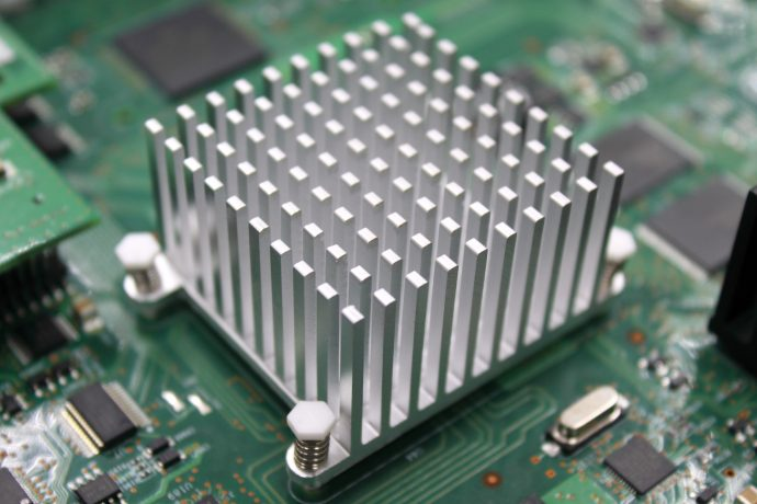 thermally conductive adhesive for heat sinks